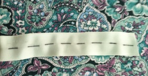 4 stitched satin ribbon 1
