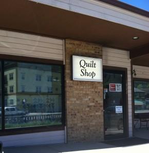 Quilt Shop Sign sm