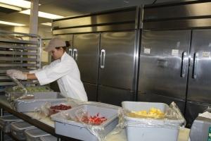 Megan the chef