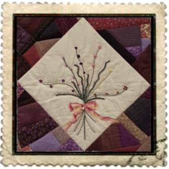 bouquet stamp sm