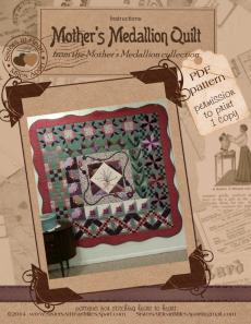 Mother's Medallion Quilt instructions 9 sm
