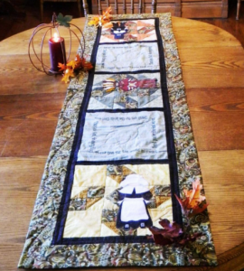 TG table runner